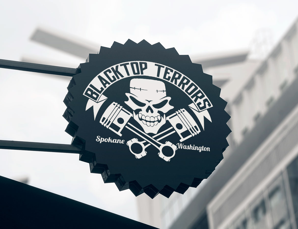 Blacktop Terrors sign